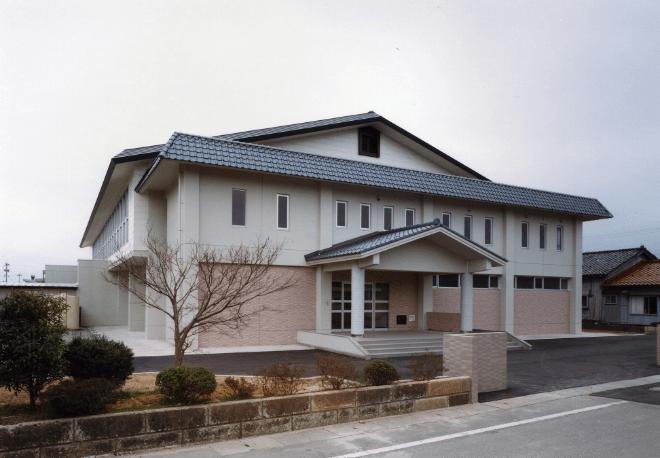 加賀市立動橋小学校講堂